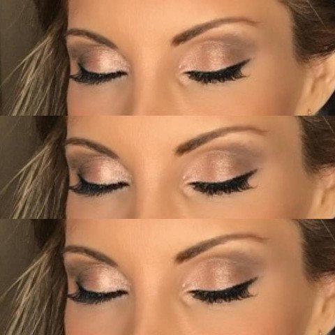 Applied Eyeshadow  - Fort Lauderdale Makeup Services