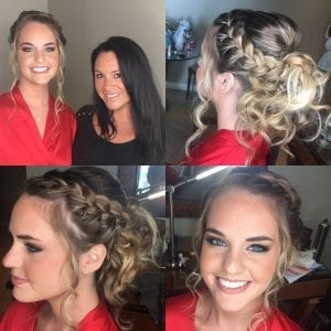 Blonde Braided Hair Wedding Hair