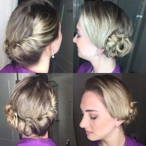 Wedding Hair Bun