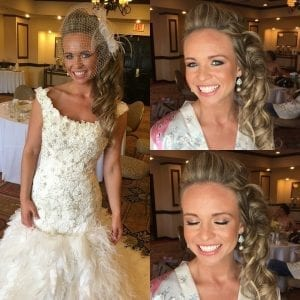 Beautiful wedding hair looks