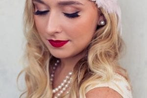 Vintage Photo Shoot Makeup