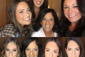 Happy Bridal Group Hair and Makeup