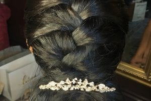 Braided Hairstyle with Low Bun