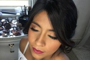 Bronze Sun Glow Makeup Look
