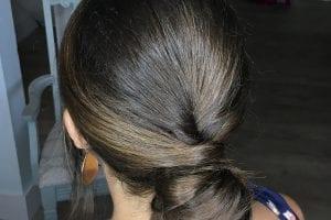 Low Bridal Bun Hair Style